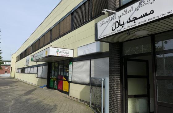 Belal Moschee In Hamburg